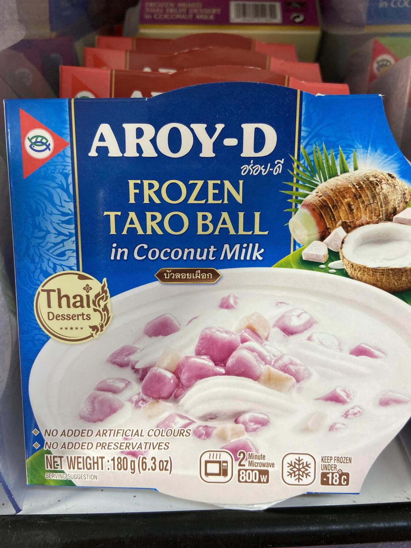 【RDF】 Frozen Taro Ball In Coconut Milk 椰奶芋头甜点 180g 微波加热2分钟即可