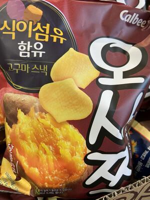 【RDG】韩国甜薯脆片 烤地瓜片