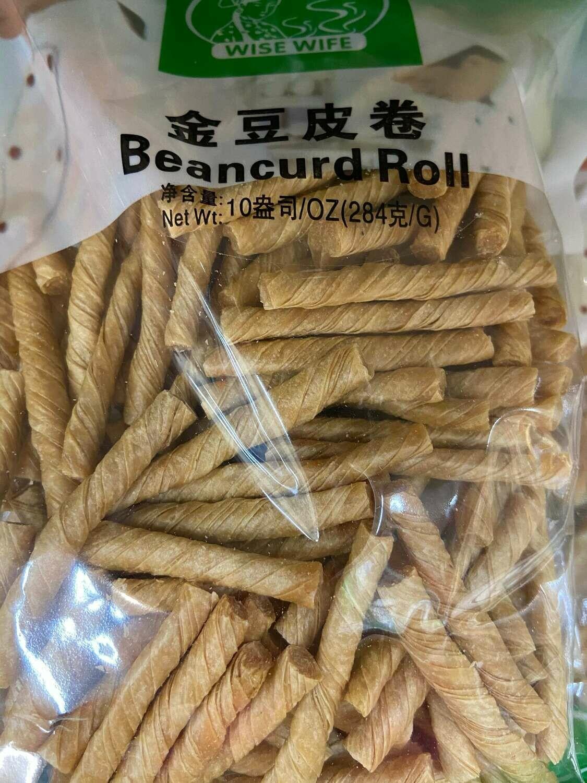 【RG】Bean Curd Roll Wise Wife 金豆皮卷  284g