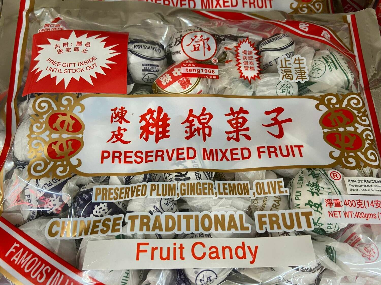 【RG】THK C Preserved mixed Fruit Summit 陈皮什锦果子 14oz