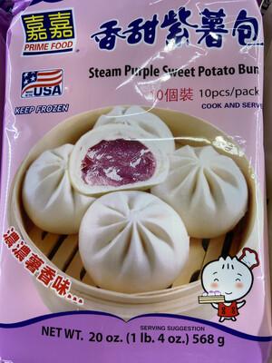 【RBF】Prime Food Steam Purple Sweet Potato Bun嘉嘉 香甜紫薯包20oz(568g)