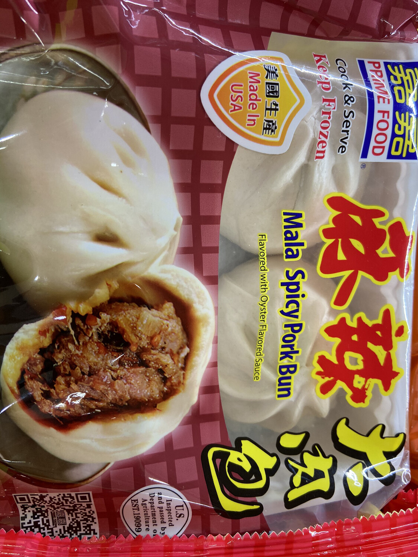 【RF】Mala Spicy Pork Bun 嘉嘉 麻辣大肉包12oz