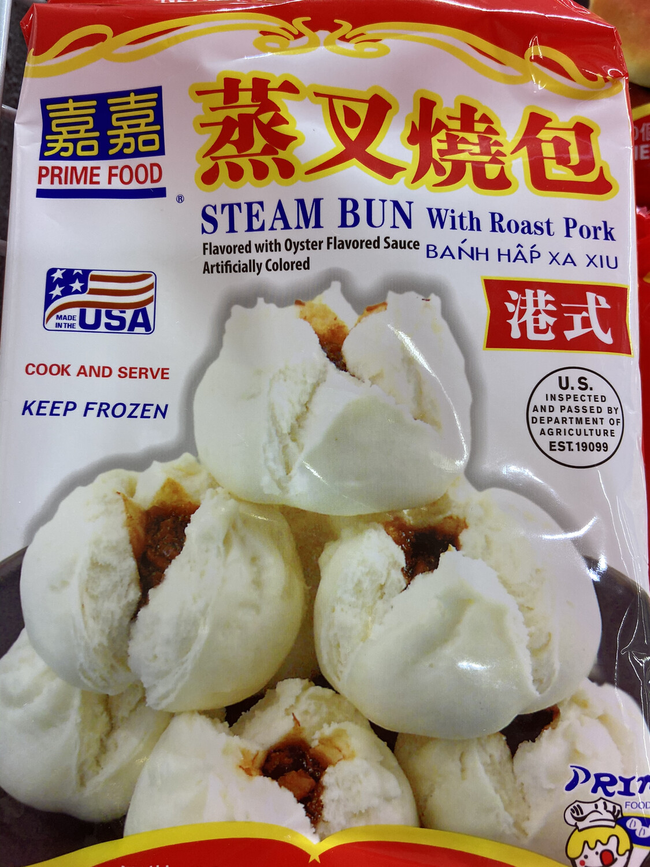 【RF】Prime Food Steam Bun with Roast Pork嘉嘉 蒸叉烧包20oz(568g)