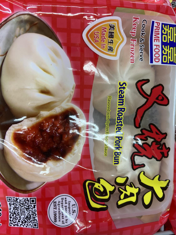 【RF】Steam Roasted Pork Bun 嘉嘉 叉烧大肉包12oz