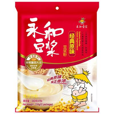 【RG】永和豆浆 经典原味豆浆 355g 12包入