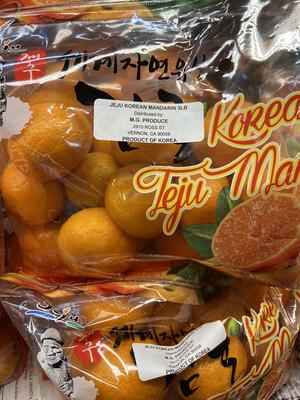 【RDP】韩国济州 甜柑橘 1bag 3lb