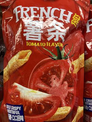 【RG】比逗仕 蕃茄味薯条 超大包 浓浓醇香蕃茄味 140g