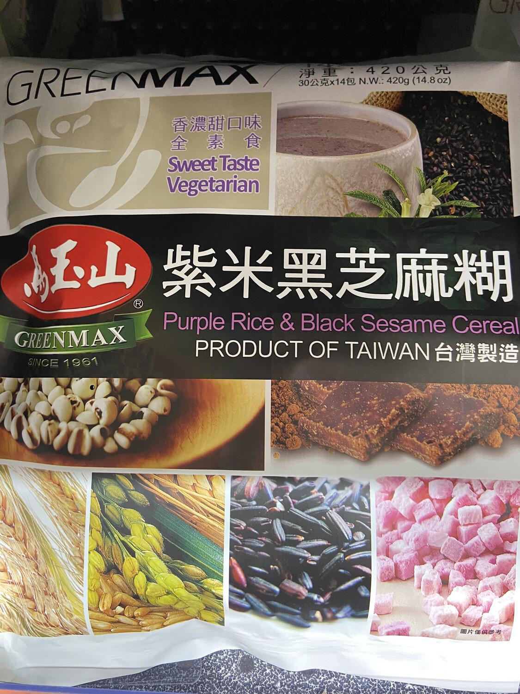 【RBG】马玉山台湾产 紫米黑芝麻糊 420g