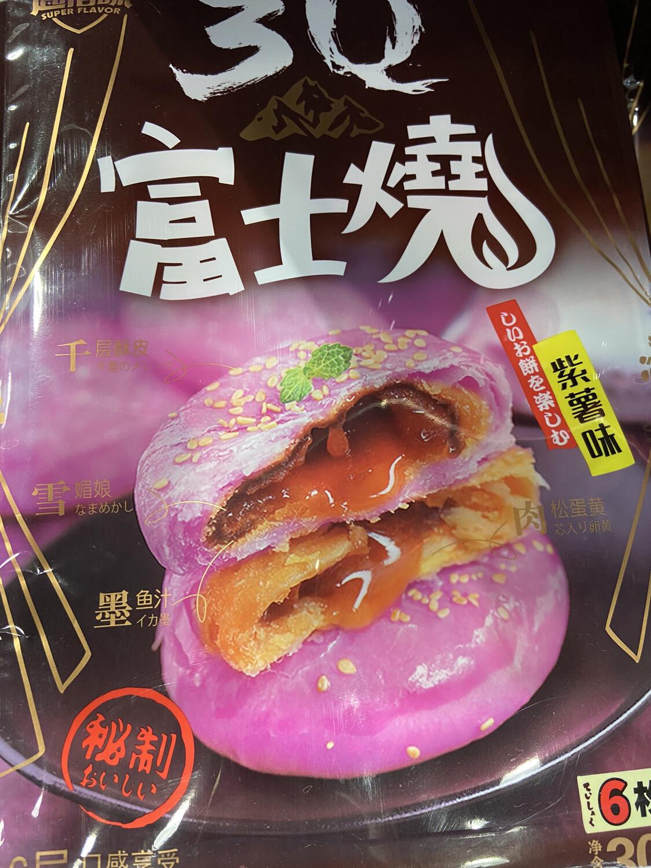 【RBG】3Q 富士烧 紫薯味 6层口感享受享受 6枚入