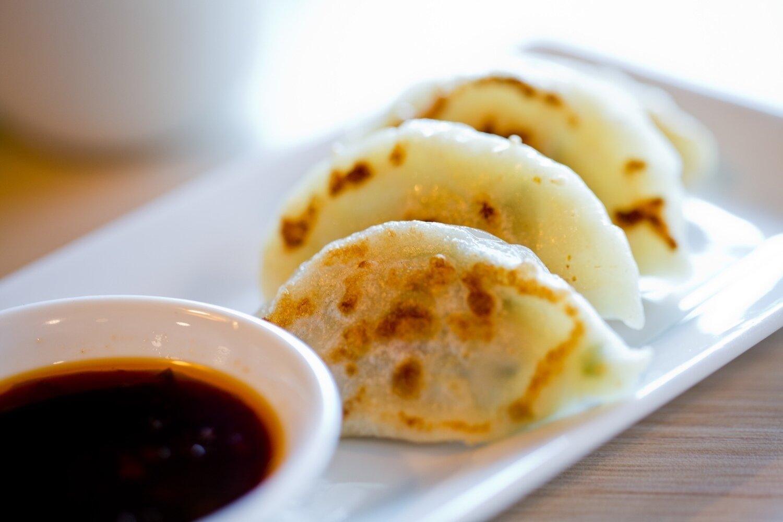【一点心】Shrimp and Chicken Dumplings韭菜鸡锅贴 (Monday&Tuesday Closed)