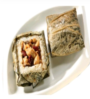 【金冠】Sticky Rice w/Meat in Lotus Leaf(L)荷叶糯米鸡(L)