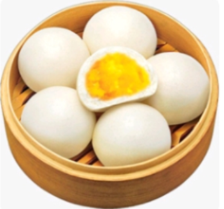 【金冠】Steamed Egg Custard Buns(3)(S)香滑奶王包(3)(S)