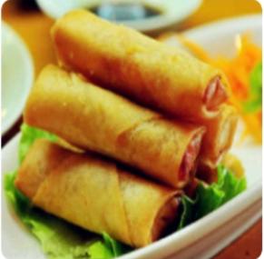 【金冠】Shredded Pork Roll w/Yellow Chives (M)韭王肉丝粉卷(M)