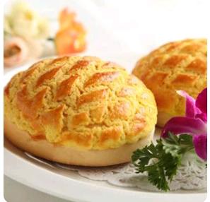 【金冠】Baked Custard Cream Bun(M)奶皇菠萝包(M)