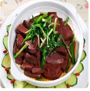 【金冠】Chinese Chives w/Pig Blood Jelly(L)韭菜猪红(L)
