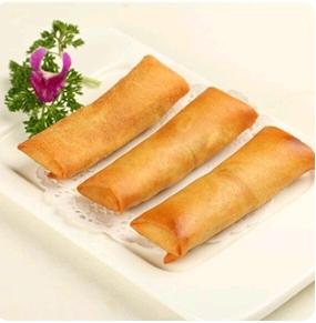 【金冠】Egg Roll w/Mushroom(M)香菇素春卷(M)