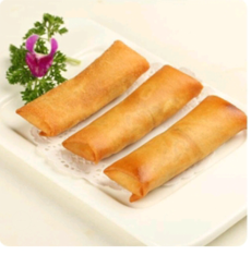 【金冠】Vegetable Egg Roll(2)炸素菜春卷(2)
