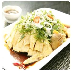 【金冠】Steamed Chicken w/Ginger & Scallion(half/whole)姜葱霸王鸡(半只/整只)