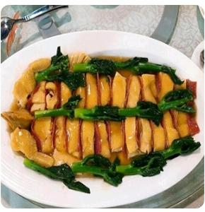 【金冠】Chicken & Ham w/Vegetable金华玉树鸡