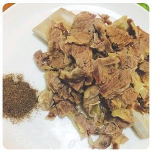 【金冠】Baby Beef Short Ribs w/Black Pepper椒盐牛仔骨