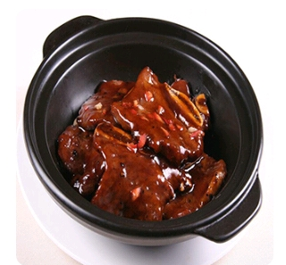 【金冠】Baby Beef Short Ribs w/Honey Pepper Sauce蜜椒牛仔骨