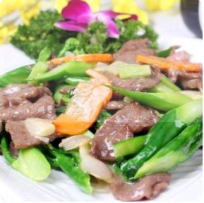 【金冠】Beef w/Chinese Broccoli兰远滑牛肉
