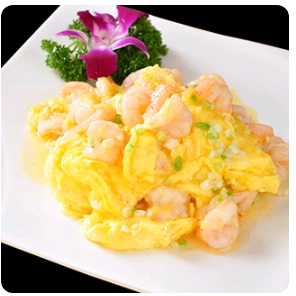【金冠】Prawn in Scrambled Egg滑蛋炒虾球