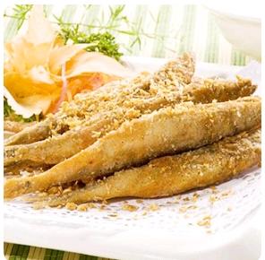 【金冠】Spicy Salt Toasted Capelin(spicy)椒盐多春鱼(辣)
