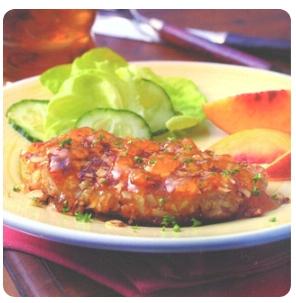 【金冠】Pork Chop w/Honey Pepper Sauce(spicy)蜜椒猪扒(辣)