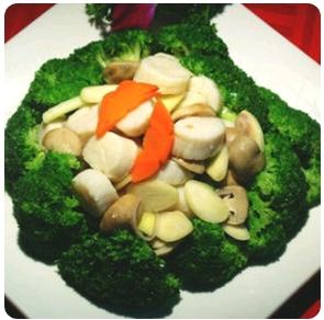 【金冠】Scallop w/Broccoli西兰花炒带子