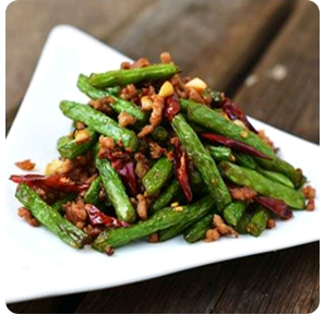 【金冠】Sauteed Green Bean(spicy)干煸四季豆(辣)