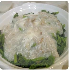 【金冠】Sauteed Snow Pea Leaf w/Crab Meat蟹肉扒豆苗