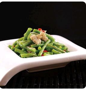 【金冠】Sauteed Green Bean w/Garlic蒜蓉四季豆