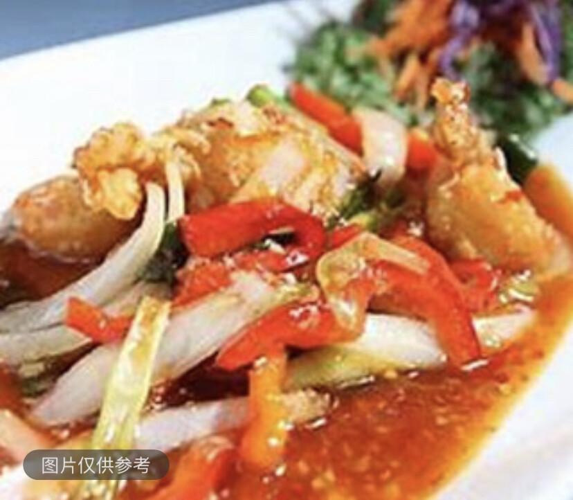 【SOHO】Squid Salad 泰式酸辣鲜鱿沙律