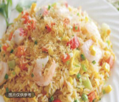 【SOHO】 Shrimp Fried Rice 虾仁炒饭