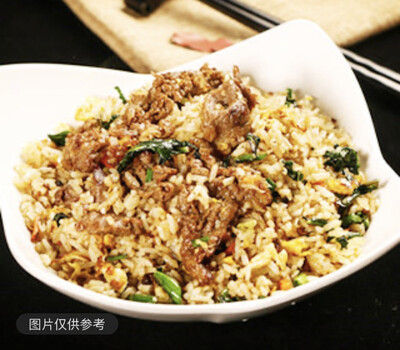 【SOHO】Beef Fried Rice 牛肉炒饭