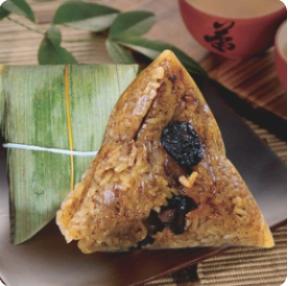 【弄堂里】Pork Sticky Rice Wrap 嘉兴鲜肉粽(一粒)(Closed Monday)