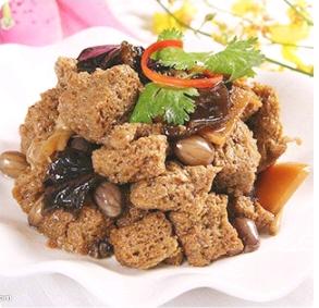 【弄堂里】Si-Xi Braised Gluten 四喜烤麸(Closed Monday)
