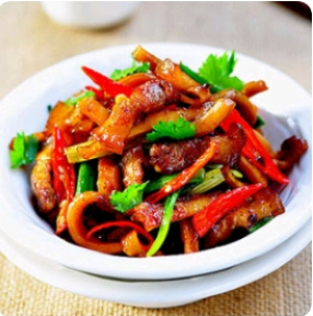 【弄堂里】Shredded Pork W. Mix Vegetables 弄堂里辣小炒(辣)(Closed Monday)