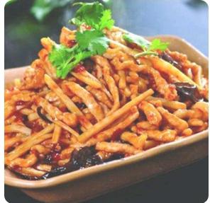 【弄堂里】Yu-Xiang Shredded Pork 鱼香肉丝(辣)(Closed Monday)