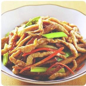 【弄堂里】Shredded Pork W. Dried Bean Curd 香干肉丝(Closed Monday)