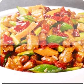 【弄堂里】Kong-Pao Chicken 宫保鸡片(Closed Monday)