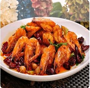 【弄堂里】Crispy Chili Prawns 香辣大虾(辣)(Closed Monday)