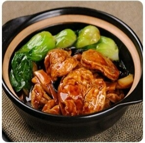 【弄堂里】Braised Gluten W. Fungus 菌菇面筋煲(Closed Monday)