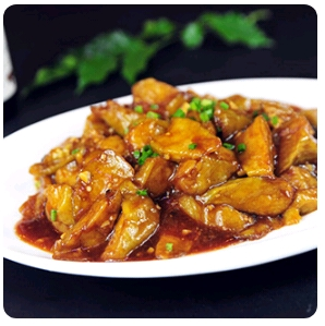 【弄堂里】Braised Eggplants 红烧茄子(Closed Monday)