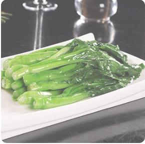 【弄堂里】Stir-Fried Spinach W. Garlic 蒜蓉菠菜(Closed Monday)