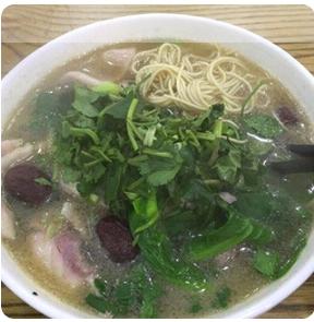 【弄堂里】Noodle Soup W. Sliced Tilapia In Vinegar & White Pepper Flavor 醋椒鱼片汤面(Closed Monday)