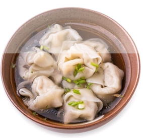 【弄堂里】荠菜虾肉馄饨(Closed Monday)
