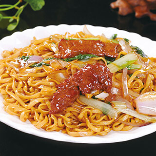 【华洋】Sate Beef Fried Noodle 沙茶肥牛炒面