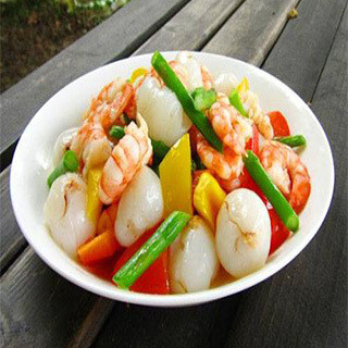 【华洋】Sauteed Shrimp W. Vegetable 什菜炒虾球